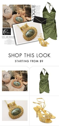 """""""SHOP - Handmade By Christina"""" by ladymargaret ❤ liked on Polyvore featuring Sergio Rossi and L.K.Bennett"""