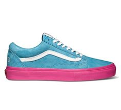 "Vans Syndicate Old Skool Pro ""S"" Golf Wang (Blue/Pink) - Skate Shoes - www.consortium.co.uk"