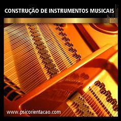 CONSTRUÇÃO DE INSTRUMENTOS MUSICAIS – Construção, manutenção, restauração de instrumentos musicais.       Atuação: Fornecimento de instrumentos para músicos