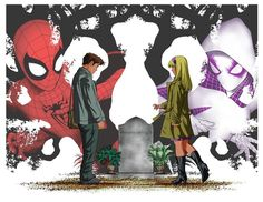 Alex Chung, failed-mad-scientist:   Peter Parker & Gwen Stacy...