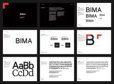 New Logo and Identity for BIMA by Only