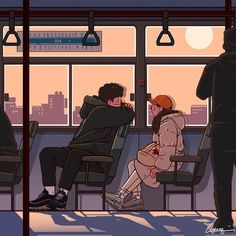 Shared by آيةة. Find images and videos about love, art and illustration on We Heart It - the app to get lost in what you love. Cute Couple Drawings, Cute Couple Art, Cute Drawings, Japon Illustration, Love Illustration, Aesthetic Anime, Aesthetic Art, Aesthetic Drawing, Japan Illustration