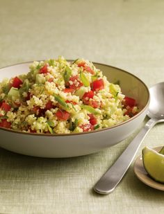 Millet Tabbouleh with Cilantro and Lime