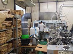 遠心式加湿器が印刷工程の静電気発生防止で活躍してます。
