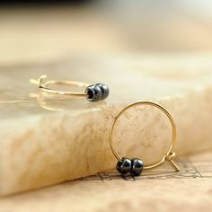 hoop la earrings 14kt gold filled etsy christmas gifts for mom gold jewelry