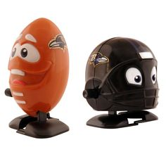 Bleacher Creatures Baltimore Ravens Wind-Up Football and Team Helmet