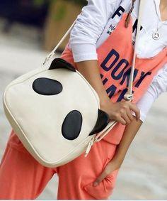 White Panda Bag