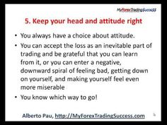 7 Secrets To Survive & Profit From A Trading Loss