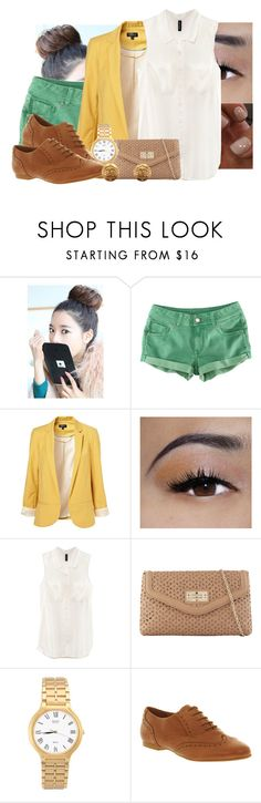 """""""..."""" by jamilah-rochon ❤ liked on Polyvore featuring GABALNARA, H&M, Essie, Ellis Faas, ALDO, American Apparel, Office and Chanel"""