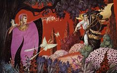 """George Barr – """"The Dying Earth"""" [1976]"""