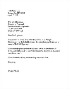 Business Letter of Reference Template | Recommendation Letters ...