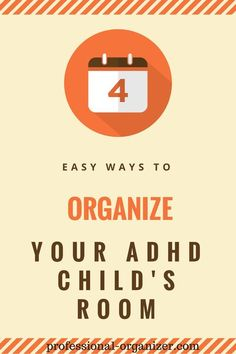 organize your adhd child: (this would have been so useful when I was a kid.)