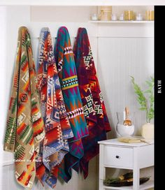 Pendleton Towels. Love these