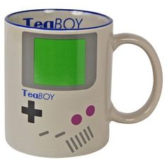 Mug style gameboy tea boy