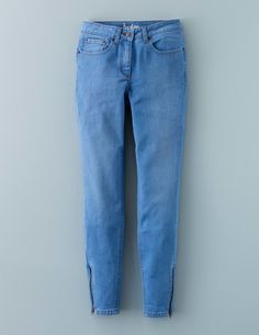 Zip Ankle Skimmer WC171 Jeans at Boden