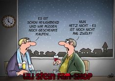 Uli Stein Weihnachtskarten Der Uli Stein Online Shop Christmas Fun, Christmas Cards, Cool Cartoons, Good Times, Haha, Family Guy, Comic Books, Comics, Illustration