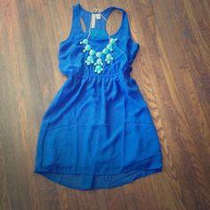 Sale Was $28!! Gorgeous Blue Dress