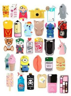 A fashion look from march 2016 by featuring stella Cute Cases, Cute Phone Cases, Unique Iphone Cases, Iphone Phone Cases, Phone Covers, Phone Case Store, Coque Iphone 6, Iphone Accessories, Mobile Cases
