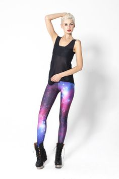 Galaxy Purple Leggings these as well