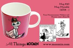 Moomin mug Mymble by Arabia - Moomin Moomin Mugs, Tove Jansson, Tableware, Trays, Finland, Den, Cups, History, Collection