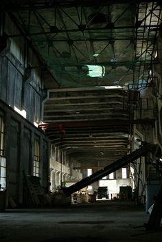 夕張北炭清水沢火力発電所跡