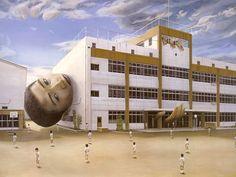 Japanese contemporary art Painting by Tetsuya Ishida --