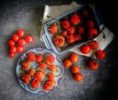 Frittomisto: cucina ed emozioni: Pomodori di Pachino con polpettine di tonno e di p...