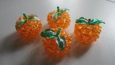 TUTORIAL - Bead Crafts (Mandarin Orange)