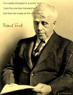 Robert Frost: one of my favorite poets