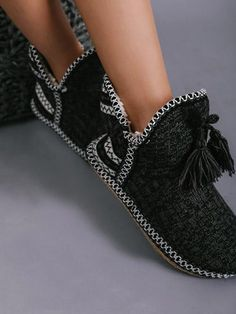 Chicnico Casual Knit Slippers