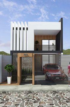 Cool house number / entrance portal