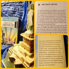 Es ist schon ein paar Jahre her, aber damals fand ich das Buch großartig. Ich weiß nicht, ob ich es heute auch noch so gerne mögen würde. Moderne Arthus Sage   #peterdavid #fantasy #buch #königarthur #newyork #lesen #bücher #ritterdertafelrunde
