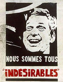 Affiche de Mai 1968 - Artistes du Mouvement de Figuration Narrative