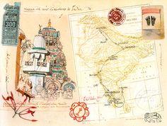 Stefano Faravelli - Cina. Carnet di viaggio - Itinerario
