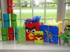 Angry Bird Party | CatchMyParty.com