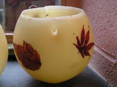 morning sun rae: beeswax lantern tutorial