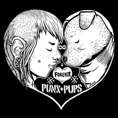 girl Black and White forever puppy heart Sketch dogs pups riot grrrl punks punx punk girl punx and pups Graphic Design Illustration, Illustration Art, Illustrations, Forever Puppy, Arte Punk, Punk Baby, Crust Punk, Gorillaz Art, Heart Sketch