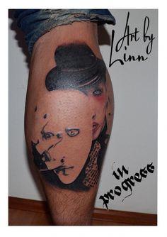 Linn Marilyn Manson In Progress 2 Tattoos Von Tattoo picture