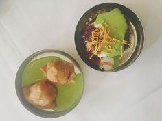 samosas and spinach cutlet chaat at Indika | Adventures in a New(ish) City #houston #texas #food #foodblogger #newishcityHOU