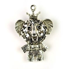 Fashion Cute Baby Elephant Pendant For Jewellery Necklace Scarf, PT-526
