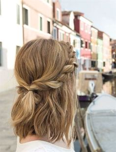 Magnificent Trendy Messy Twisted Half-Updo for Medium Hair – School Hairstyles  The post  Trendy Messy Twisted Half-Updo for Medium Hair – School Hairstyles…  appeared first on  Hair and Beauty .