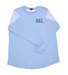 Kappa Kappa Gamma Seersucker Jersey. www.sassysorority.com
