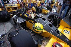 Ayrton Senna - Lotus - Monza 1987