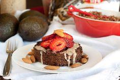 Double Chocolate Crunch Quinoa Flake Bake #quinoaflake #breakfastcake