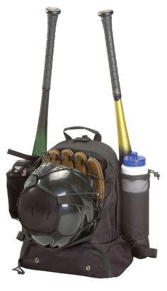 Physical Education  Baseball  Baseball Equipment    Baseball Backpack