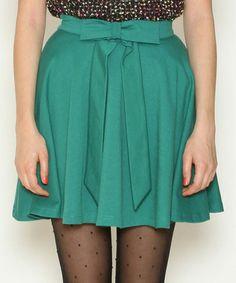 Loving this Green Adriana Skirt on #zulily! #zulilyfinds
