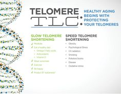 Healthy aging begins with protecting your telomeres. Several lifestyle factors can also significantly affect telomere health. http://www.4amazingresults.isagenix.com/en-US/landing-pages/contact-me