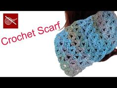 Blossom Stitch - Crochet Geek Baby Blanket, Scarf, Shawl - YouTube