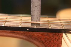 Setup You Guitars - String Height Measurement