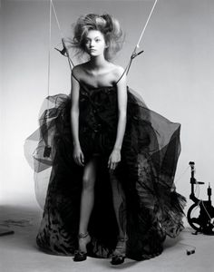 Gemma Ward for Vogue Italia